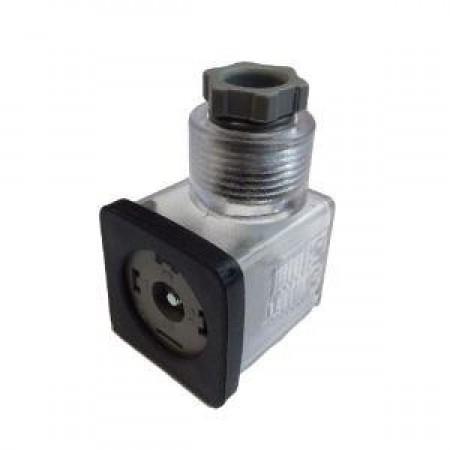 00.396.0, Elektromos csatlakozó, 30mm, 250V LED