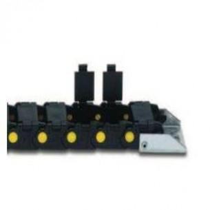 300A075080, Energialánc, nyitható, 18x75 mm belső méret (r=80mm)