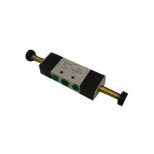4V220-08, mágnesszelep, 5/2, G1/4 coll, bistabil (1,5-9 bar)