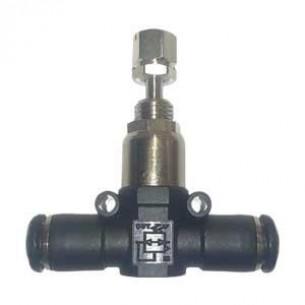 55970-06, mini nyomásszabályozó 6mm-es csőcsatlakozással