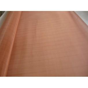 Vörösréz drótszövet, DIN ISO 9044 sz. szerint, anyagminőség: 20065/CW004A, 1000 mm széles tekercsben