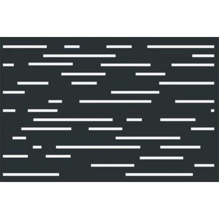 Design 1 lézervágott kerítésbetét 1200x800