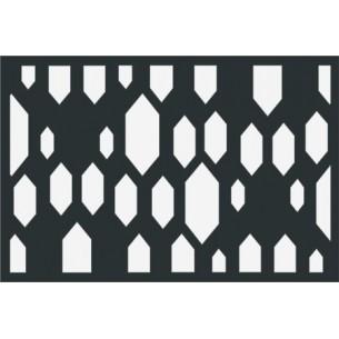 Design 6. lézervágott kerítésbetét 1200x800