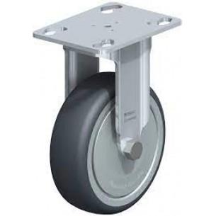 BKPA-TPA 80K-FK Fixvillás görgő, talpas, termoplasztikus gumi futófelületű