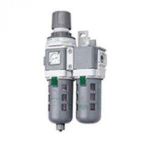 AC3010-04-ES, Komplett táp, 40mikron szűrőbetét, G1/2