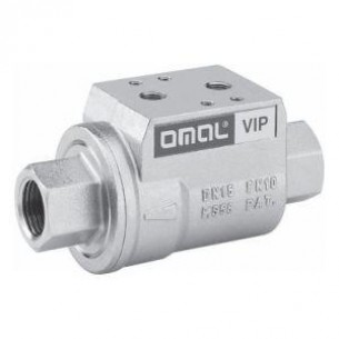 VDA10003, VIP koaxiális szelep, G3/8, NBR