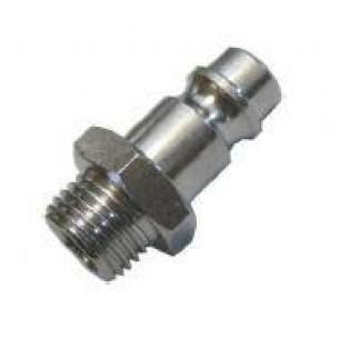261-1/2, gyorscsatlakozó dugó, széria 26, 1/2 coll külső menet