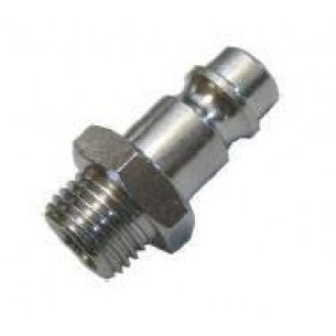 261-3/8, gyorscsatlakozó dugó, széria 26, 3/8 coll külső menet