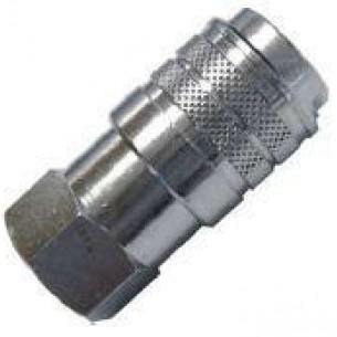 63192-1/4, INOX Gyorscsatlakozó hüvely, 1/4 coll belső menet