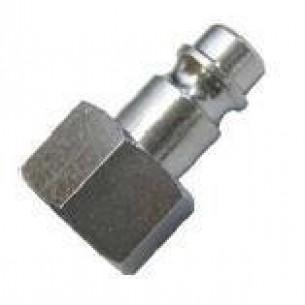 63262-1/4, INOX Gyorscsatlakozó dugó, 1/4 coll belső menet