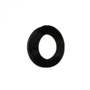 PAHF műanyag cső 10/8 mm, fekete