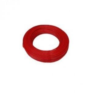 PAHF műanyag cső 6/4 mm, piros