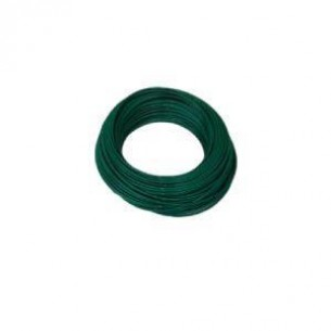 PAHF műanyag cső 6/4 mm, zöld