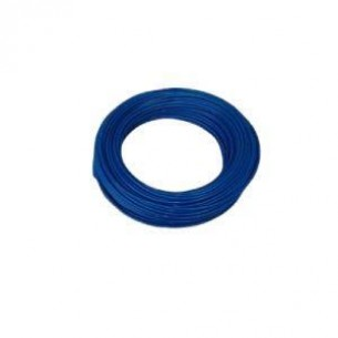 PUR műanyag cső 12/8 mm, kék