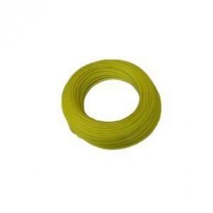 PUR műanyag cső 12/9 mm, sárga