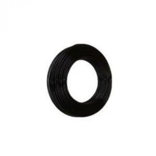 PUR műanyag cső 8/6 mm, fekete