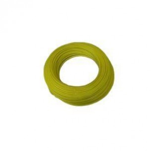 PUR műanyag cső 8/6 mm, sárga